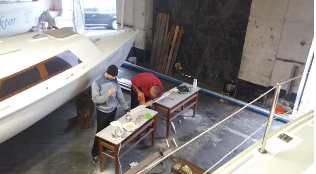 Modernizacja jachtu Omega