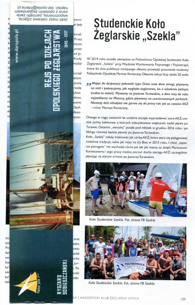 Rejs po dziejach opolskiego żeglarstwa