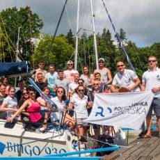 Epicki rejs szlakiem Wielkich Jezior Mazurskich 2018