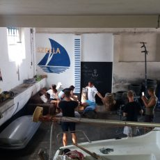 "Wakacyjny remont hangaru i jachtu ""Student"""